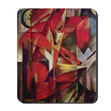 Franz Marc - Foxes Mousepad