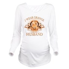I Wear Orange for my Long Sleeve Maternity T-Shirt