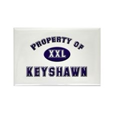 Property of keyshawn Rectangle Magnet
