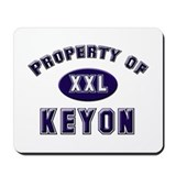 Property of keyon Mousepad