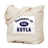 Property of keyla Tote Bag