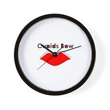 Cupid's Bow Wall Clock