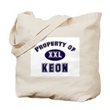 Property of keon Tote Bag