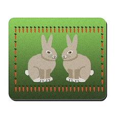 rabbits 7.5x5 Mousepad