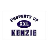 Property of kenzie Postcards (Package of 8)