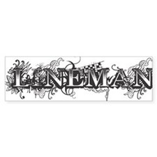 lineman logo 2011_2 Bumper Sticker