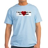 Heart on for Natalee Ash Grey T-Shirt