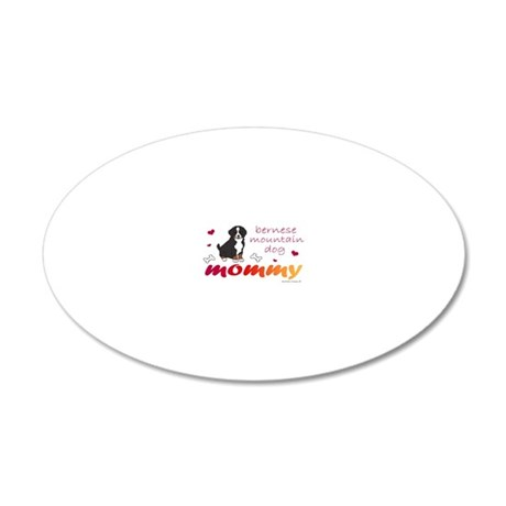 Bernese 20x12 Oval Wall Decal