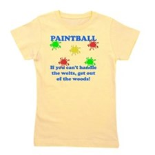 Paintball Welts Blue Girl's Tee