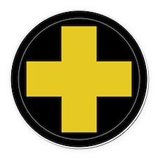 33rd Infantry Division Round Car Magnet