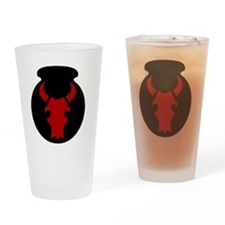 34th Infantry Division Drinking Glass