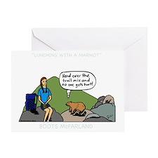 MarmotShirt Greeting Card