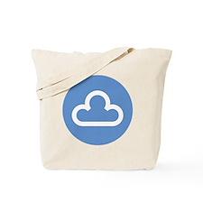 white-cloud1-disc1 Tote Bag