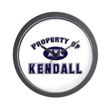 Property of kendall Wall Clock