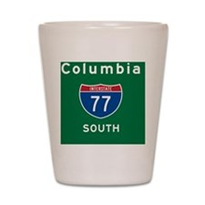 Columbia 77 Rec Mag Shot Glass