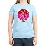 Cowsill Flower Logo T-Shirt