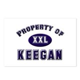 Property of keegan Postcards (Package of 8)