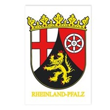 Rheinland-Pfalz (gold) Postcards (Package of 8)