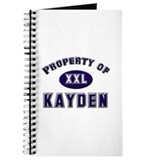 Property of kayden Journal