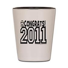 CONGRATS 2011 Shot Glass