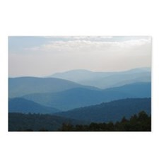 Blue Smokey Mountains #02 Postcards (Package of 8)