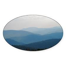 Blue Smokey Mountains #02 Decal