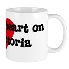 Heart on for Victoria Mug