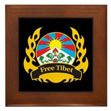 Flame Free Tibet Framed Tile