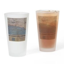 OmahaBeachWest Drinking Glass