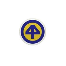 44th Infantry Division Mini Button