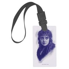 Mabel Normand 1915 Luggage Tag
