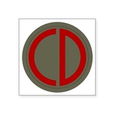 "85th Infantry Division Square Sticker 3"" x 3"""