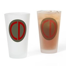 85th Infantry Division Drinking Glass