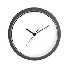365 lax bro_White Wall Clock