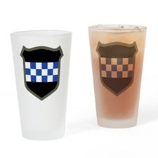 99th Infantry Division Drinking Glass
