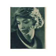 Lillian Gish 1921 Throw Blanket