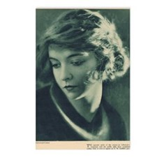 Lillian Gish 1921 Postcards (Package of 8)