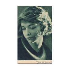 Lillian Gish 1921 Rectangle Car Magnet