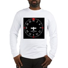 heading_clock Long Sleeve T-Shirt