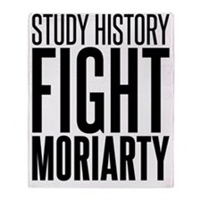 history moriarty Throw Blanket