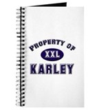 Property of karley Journal