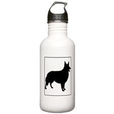 Collie.eps Water Bottle