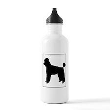 Poodle.eps Water Bottle