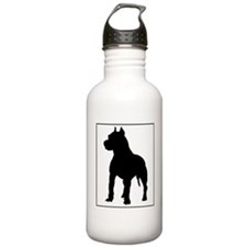 Pitbull.eps Water Bottle