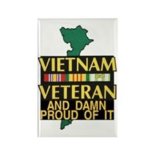 PROUD VIET VET Rectangle Magnet