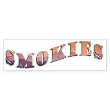 Smokiest_Letters Bumper Sticker