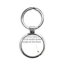 3-armed Round Keychain