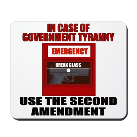 In case of Emergency Mousepad