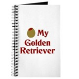 Olive My Golden Retriever Journal