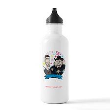 Geek-ipad-case-black Water Bottle